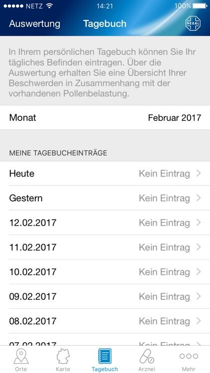 Pollenflug-Vorhersage screenshot-3
