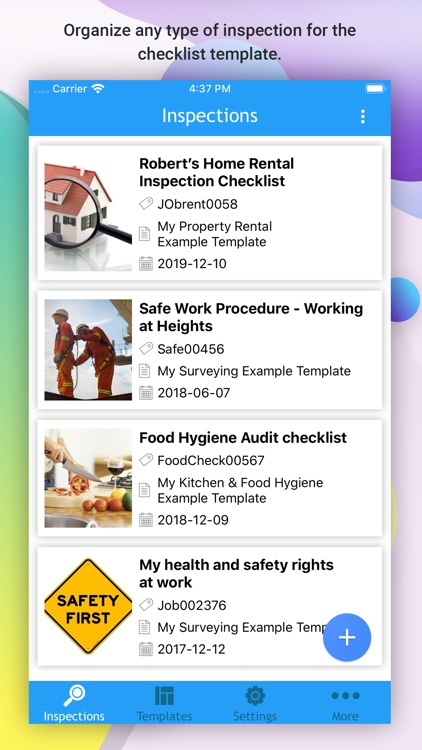 OnSite Checklist - Auditing