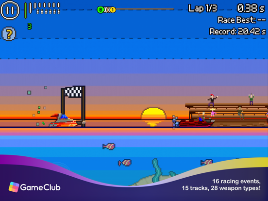 Pixel Boat Rush - GameClub screenshot 8