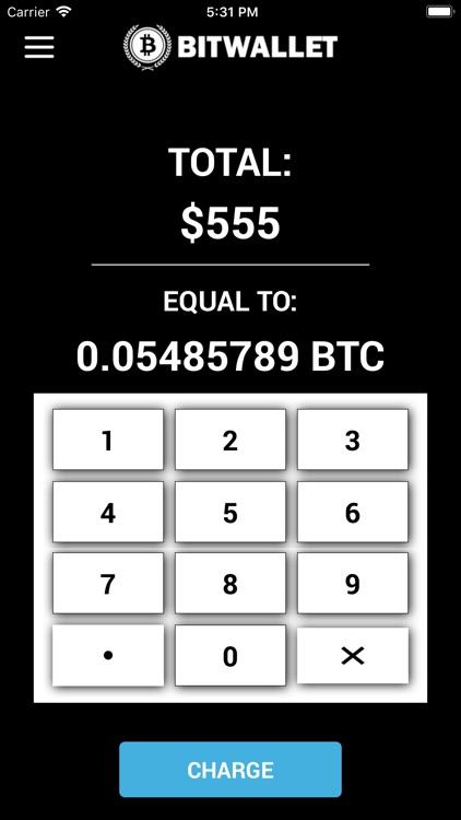 BitWallet - Buy & Sell Bitcoin screenshot-5