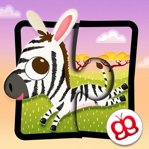 Wildlife Jigsaw Puzzles iPad icon