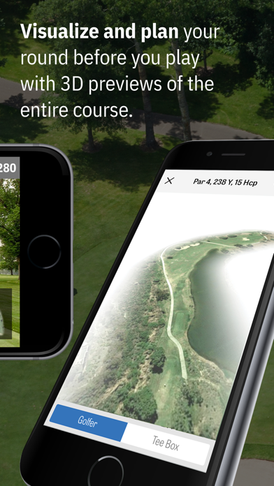 Screenshot for Golfshot Plus: Golf GPS + AR in Greece App Store