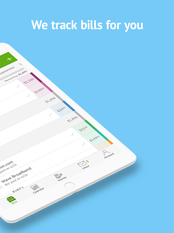 Prism Bills & Money - Pay bills for free, check account balances, & track your paydays screenshot