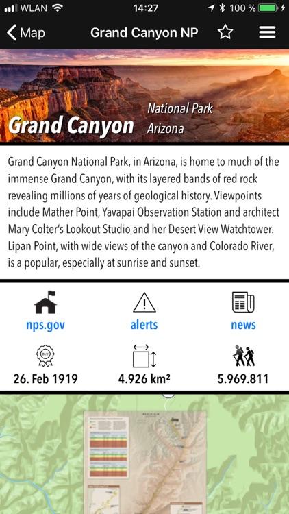National Parks Pocket Maps screenshot-6