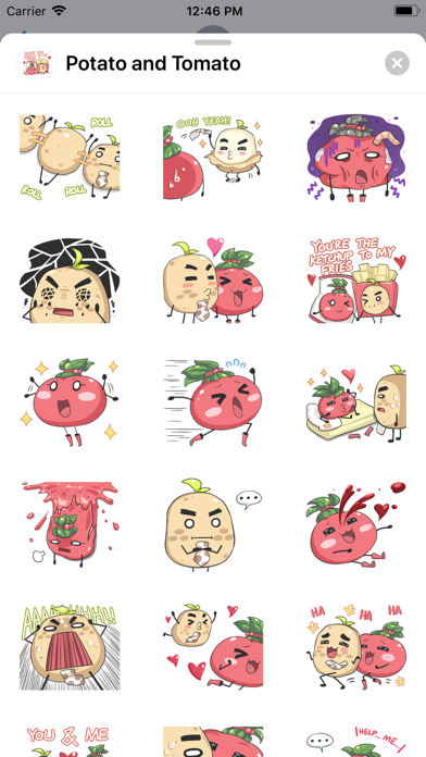 Potato and Tomato screenshot 2