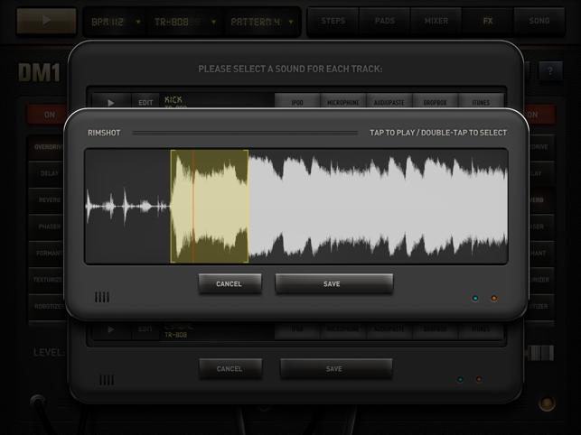 DM1 - The Drum Machine Screenshot