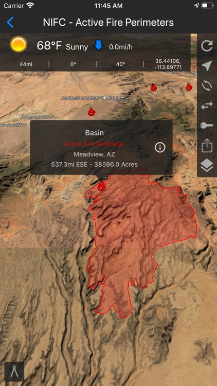 Fires - Wildfire Maps and Info screenshot-5