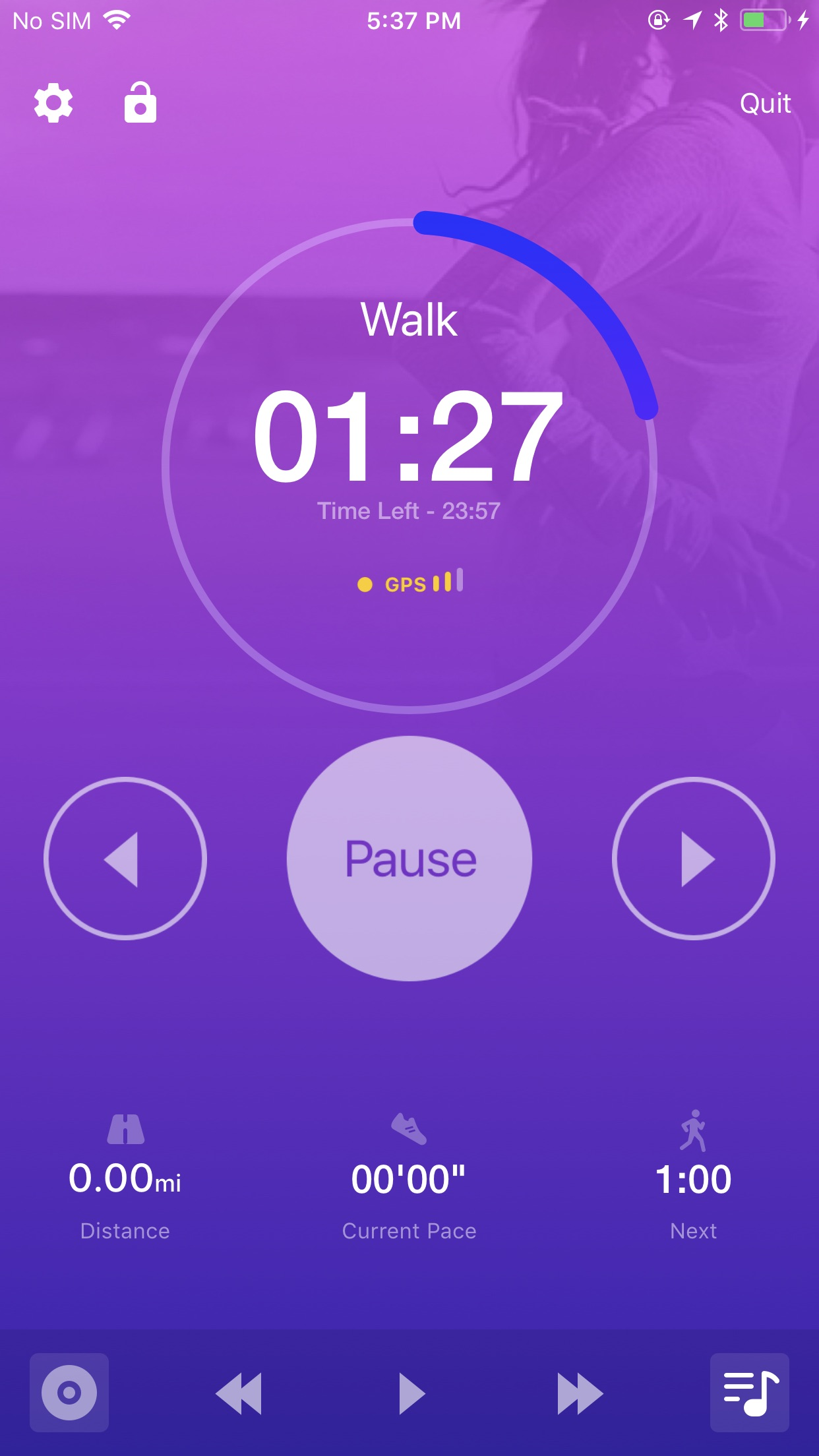 Couch to 5K® - Run training Screenshot