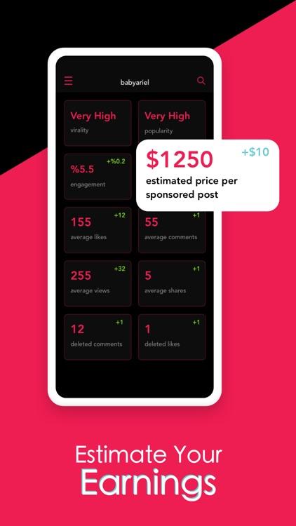 TikTracker: Reports for TikTok screenshot-4