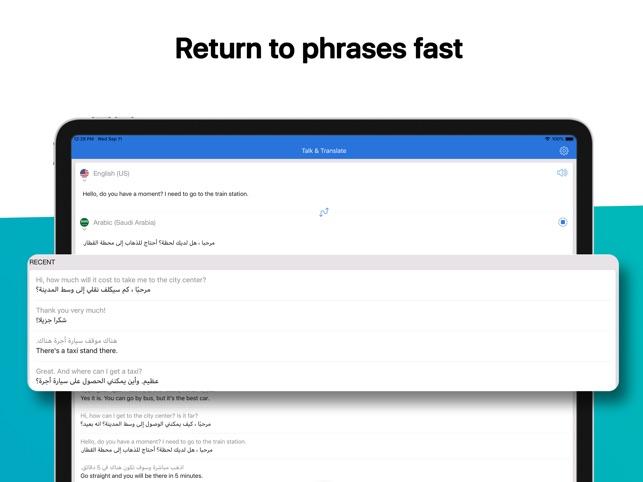 Talk & Translate on the App Store