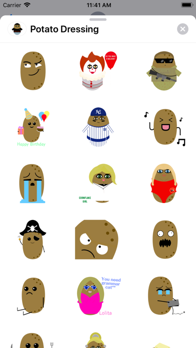 Potato Dressing screenshot 4