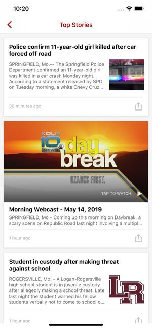 KOZL KOLR News OzarksFirst com on the App Store