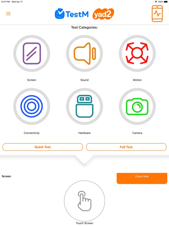 TestM - Check phone & Report on the App Store
