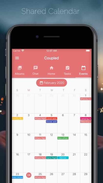 Coupled - Relationship Tracker screenshot-4