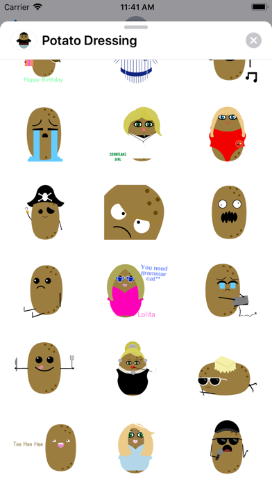 Potato Dressing screenshot 5