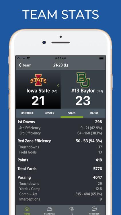 Iowa State Football Schedules screenshot-4