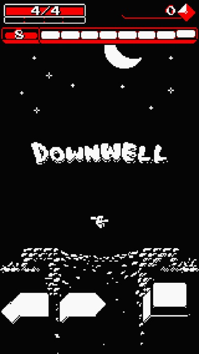 Screenshot from Downwell