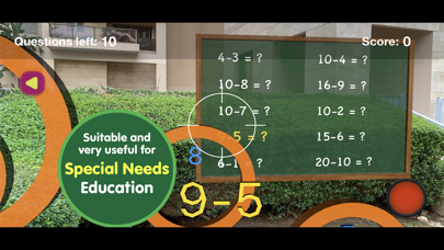 Math skills Subtraction -F.ver screenshot 4
