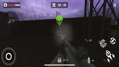 Survival Sniper Zombie Army 3D screenshot 4