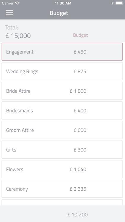 iVOW - Wedding Planner screenshot-5
