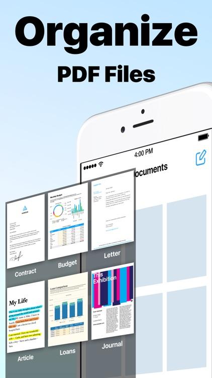 Scanner App: PDF Docs Scan Cam screenshot-4