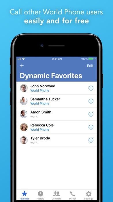 World Phone Screenshot
