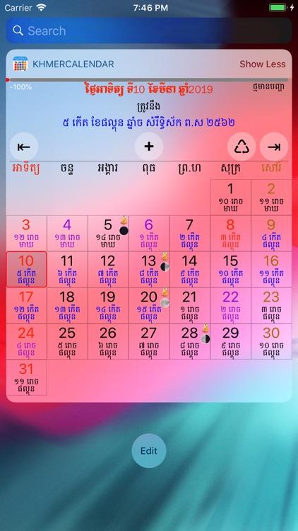 Khmer Calendar screenshot-9