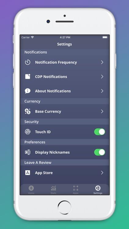 Cold Crypto (Coin Tracker) screenshot-6