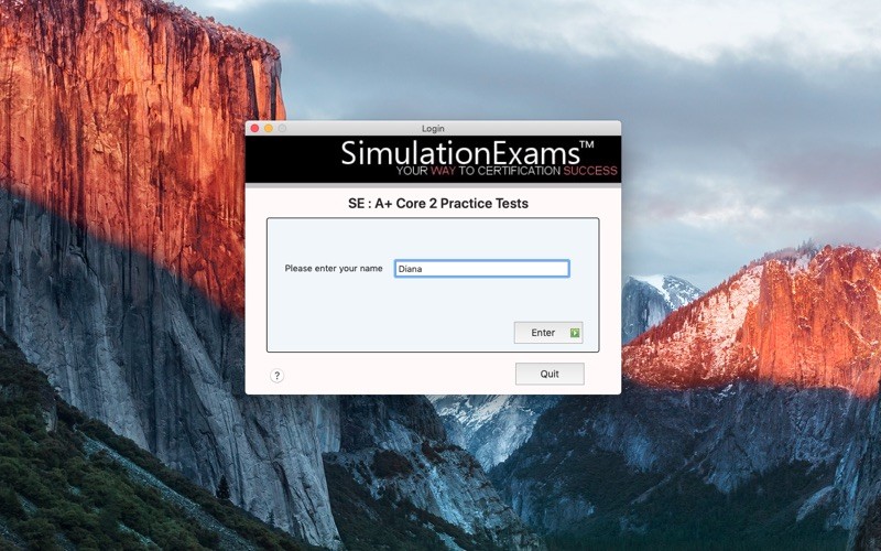 SE A+ Core 2 Practice Tests for Mac