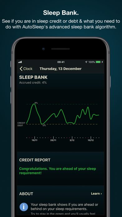 Screenshot for AutoSleep Track Sleep on Watch in Jordan App Store