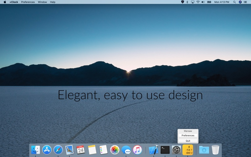 +Clock for Mac