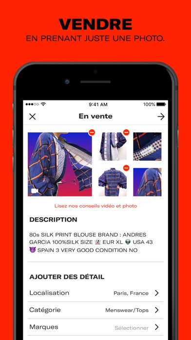 Screenshot for Depop - Streetwear et vintage in Lebanon App Store