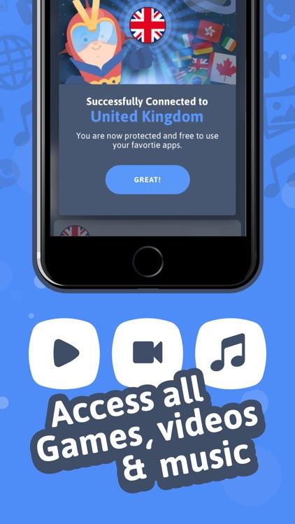 VPN Express- VPN for iPhone screenshot-3