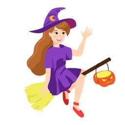 Aufkleber für Halloween