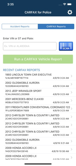 Carfax For Police | 2020 Top Car Models