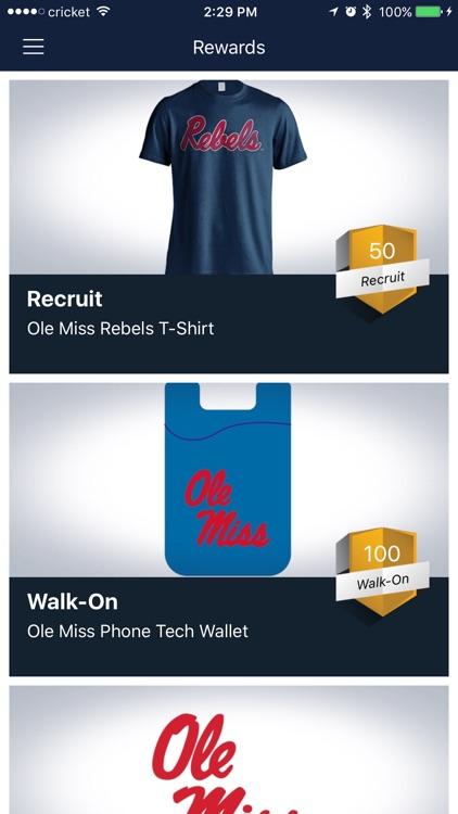 Ole Miss Rebel Rewards screenshot-3