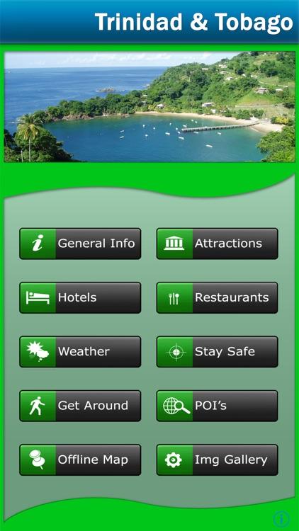 Trinidad & Tobago Offline Map