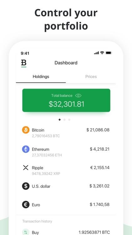 Bitstamp – crypto exchange app screenshot-5