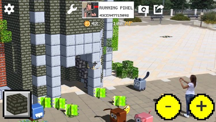 WrldCraft Blocks Legends AR screenshot-5