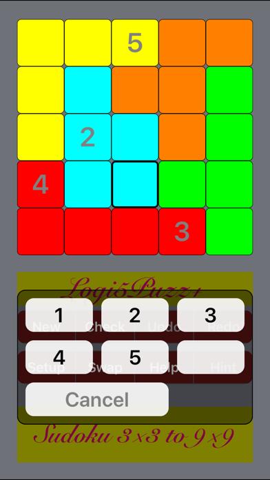 Logi5Puzz+ 3x3 to 16x16 Sudokuのおすすめ画像1