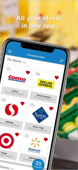 coupons app iphone