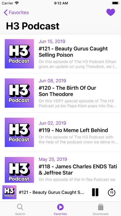 Podcast Player App screenshot-4