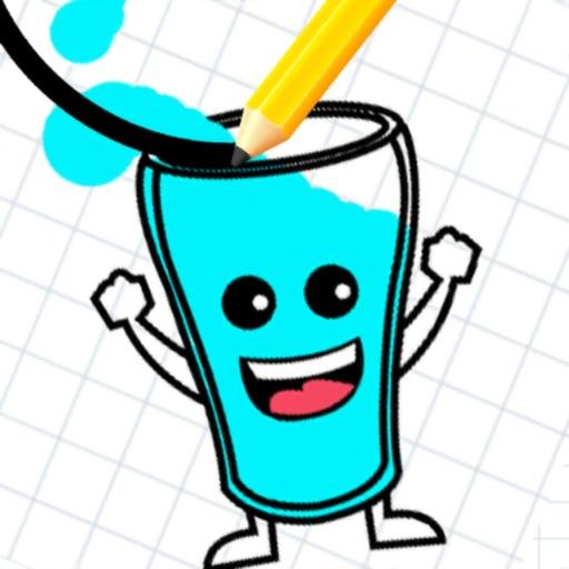 Стаканчик и вода: пазл игра