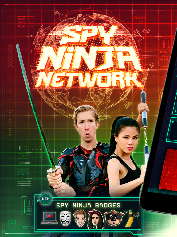 iPad Image of Spy Ninja Network - Chad & Vy