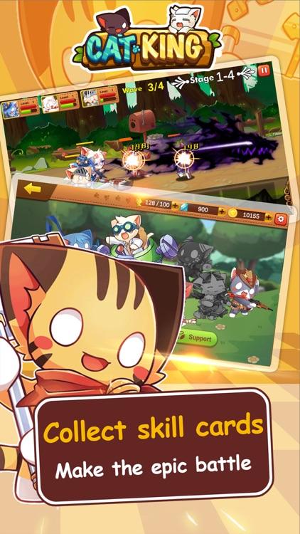 Cats King - Battle Dog Wars screenshot-4