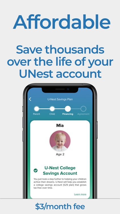 UNest: College Savings App screenshot-5