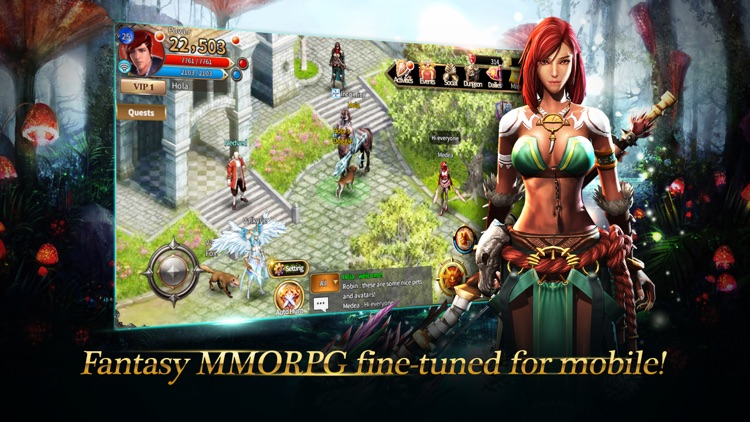 Arcane Online - Best 2D MMORPG screenshot-0