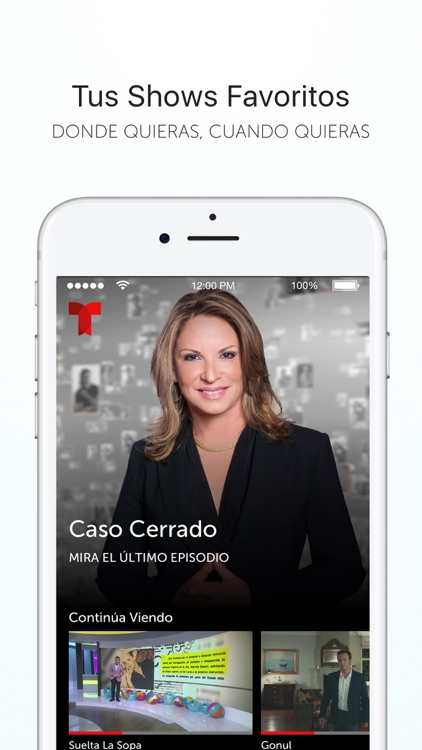 Telemundo–Capítulos Completos screenshot-0