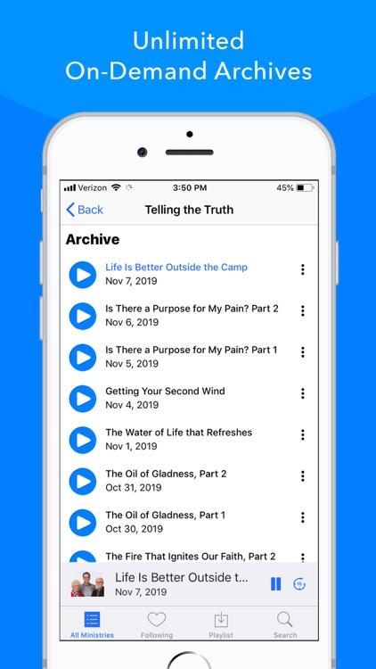 OnePlace - Christian Audio screenshot-3