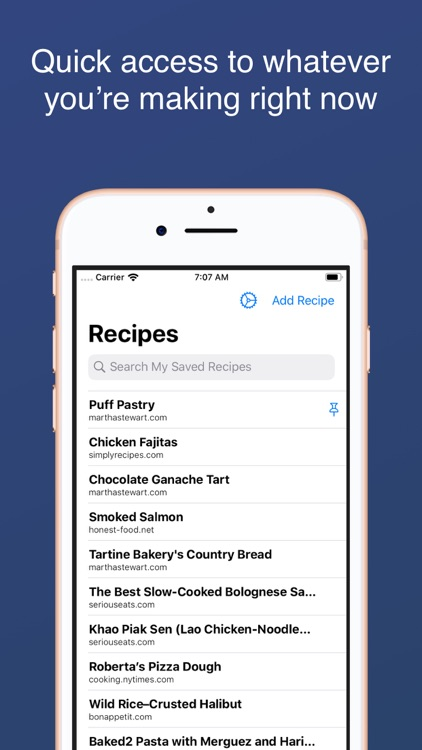 Smart Recipe Organizer screenshot-3